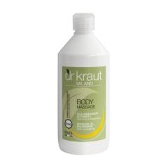 Масло для массажа питательное  с миндалем Доктор Краут Massage oil nourishing with almond oil