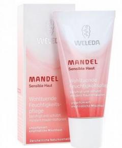 Миндальный деликатный легкий крем Веледа Mandel Wohltuende Feuchtigkeitspflege Weleda