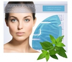 Маска коллагеновая с экстрактом ментола Бьюти Фейc Kolagen Mask ekstraktem mentolu Beauty face