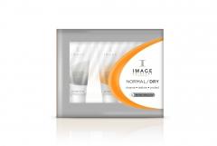 Пробный набор препаратов для нормальной и сухой кожи Имидж Скинкеа Normal/Dry Trial Kit Image Skincare