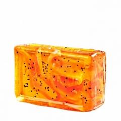 Глицериновое мыло куб Апельсин и Чили Органик Glycerin soap cube Orange Chile Organique