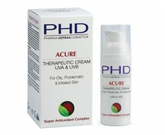 Увлажняющий восстанавливающий крем для жирной и проблемной кожи PHD (Фарма Дерма Косметикс) Acure Therapeutic Cream PHD (Pharma Dermacosmetics)