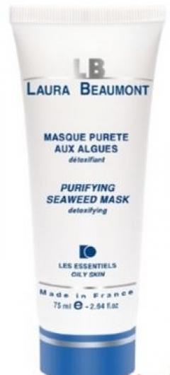 Очищающая маска на основе морских водорослей Лаура Бомонт PURIFYING SEAWEED MASK Laura Beaumont