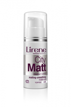 Тональный крем с матирующим и и выравнивающим эффектом Лирен Shiny Touch Lirene