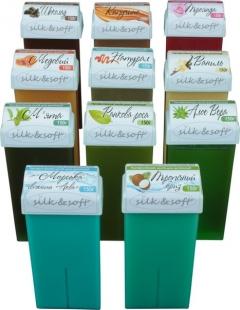 Ароматизированная сахарная паста в картридже Силк энд Софт Silk and Soft