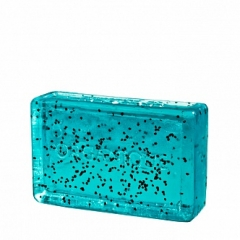Глицериновое мыло куб Море и мак Органик Glycerin soap cube Sea and poppy Organique