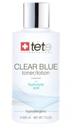 Тоник-лосьон с гиалуроновой кислотой Тете CLEAR BLUE Toner/Lotion Tete