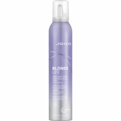 Фиолетовый разглаживающий мусс для сохранения яркости блонда Джойко Blonde Life Brilliant Tone Violet Foam Smoothing Foam Joico