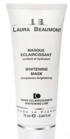 Осветляющая маска Лаура Бомонт WHITENING MASK Laura Beaumont