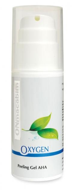 Очищающий гель-пилинг с АХА-кислотами ОНмакабим Oxygen Peeling Gel AHA OnMacabim