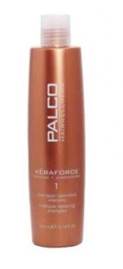 Интенсивный реконструирующий шампунь Палко Профешнл Keraforce Intensive Repairing Shampoo PALCO Professional