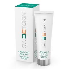 Крем для лица АНА 20% для интенсивной стимуляции и лифтинга Свит Скин Систем Crema Viso AHA 20% Sweet Skin System
