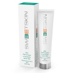 Гель для жирной и проблемной кожи АНА 10% Свит Скин Систем GEL PELLI GRASSE E ACNEICHE AHA 10% Sweet Skin System