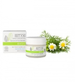 Крем для сухой кожи лица Ромашка-Календула Стикс Натуркосметик Cream for dry skin Chamomile, Calendula Styx Naturcosmetic