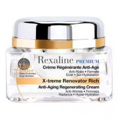 Антивозрастной восстанавливающий крем для очень сухой кожи Рексалайн X-treme Renovator Rich Rexaline