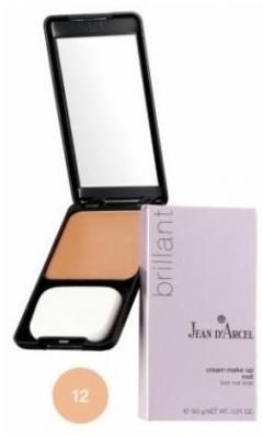 Компактная крем-пудра с матирующим эффектом Жан д'Арсель Face Cosmetics Cream Make-up Mat Jean d'Arcel