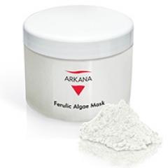 Гипоаллергенная омолаживающая осветляющая альгинатная маска с феруловой кислотой Аркана Ferulic Algae Mask Arkana
