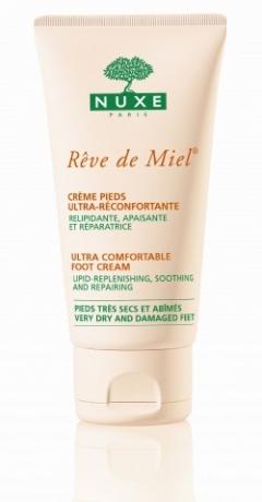 Медовая мечта ультра комфорт питательный крем для ног Нюкс Reve de Miel Ultra comfortable foot cream Nuxe