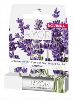 Антиакне ролик с ирисом для проблемной кожи Риор Anti Acne Roller with Iris for Problem Skin Ryor