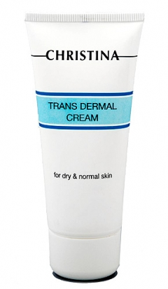 Трансдермальный крем с липосомами для сухой и нормальной кожи Кристина Trans Dermal Cream With Liposoms Christina