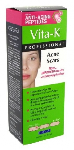 Крем от Шрамов после акне Фриман Vita-K Professional Cream for Acne Scars Freeman