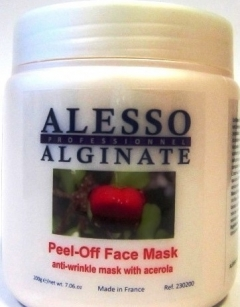 Альгинатная маска против морщин с ацеролой Алессо Alginate mask against wrinkles with acerola Alesso