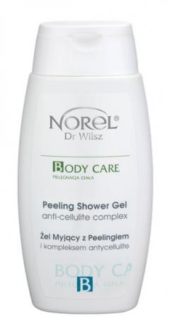 Эксфолиирующий гель для душа с антицеллюлитным комплексом Норел Peeling shower gel with anti-cellulite complex Norel