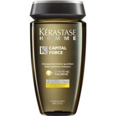 Ежедневный энергетический шампунь Керастаз Homme Capital Force System Taurine Kerastase