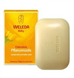 Растительное детское мыло Веледа Calendula Pflanzenseife Weleda