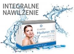 Увлажняющие биологически активные добавки с 3 типами гиалуроновой кислоты Кларена Suplement Hyaluron 3D Clarena