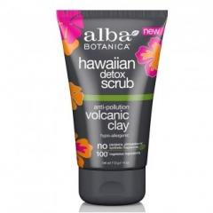 Детокс скраб «Гавайский» с вулканической глиной Альба Ботаника Hawaiian Detox Scrub with Anti-pollution Volcanic Clay Alba Botanica