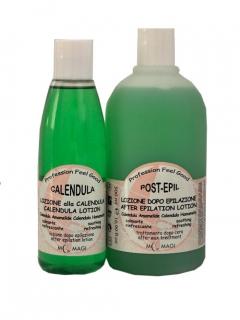 Лосьон до и после эпиляции с календулою и гамамелисом (антисептика) М.Маджи BEFOREW & POST-EPIL Lotion Calendula Hamamelis M.Magi