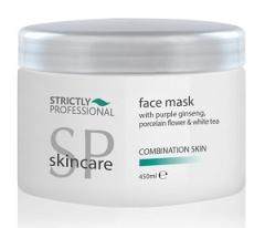 Маска для лица для комбинированной кожи Женьшень, Каолин, Белый чай Беллитас Strictly Professional Facial Mask Comination Bellitas