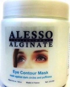 Альгинатная маска против темных кругов и отечности для контура глаз Алессо Alginate mask against dark circles and puffiness Eye Contour Alesso