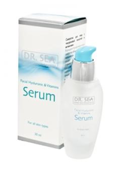 Сыворотка для лица с гиалуроновой кислотой и витаминами Доктор Си Serum for the face with hyaluronic acid and vitamins Dr. Sea