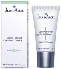 Корректирующий крем-регулятор секреции сальных желез Жан д'Арсель Care for Impure Skin Crеme Clarifiante Jean d'Arcel