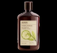 Мягкий крем для душа Лимон и шалфей Ахава Mineral Botanic Cream Wash Lemon Sage Ahava