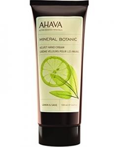 Бархатный крем для рук Лимон и шалфей Ахава Mineral Botanic Hand Cream Lemon Sage Ahava