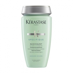 Шампунь для волос жирных у корней и сухих на концах Керастаз Specifique Bain Divalent Shampoo Kerastase