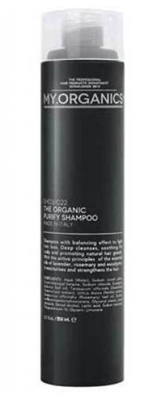 Очищающий шампунь для борьбы с выпадением волос Май.Органикс Purify Shampoo With Rosemary My.Organics