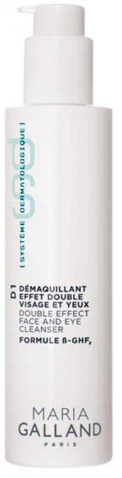 Двойное очищающее средство для лица и век Мария Галланд Demaquillant Effet Double Visage et Yeux D1 Maria Galland