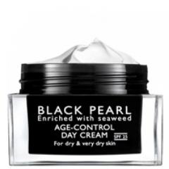 Дневной крем для лица для сухой и очень сухой кожи серии Си Оф Спа Black Pearl Moisturizing Age Control Day Cream Dry - Spf 25 Sea Of Spa