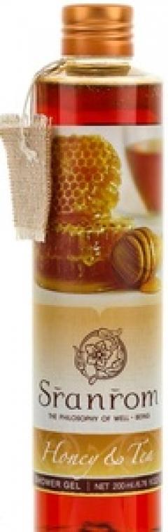 Гель для душа Чай с медом Сранром Honey & Tea Shower Gel Sranrom