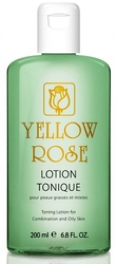 Противовоспалительный тонизирующий лосьон с экстрактом огурца и молочной кислотой Йелоу Роуз Lotion Tonique Yellow Rose