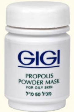Антисептическая прополисная пудра для жирной кожи Джи Джи Propolis Powder Mask Gigi