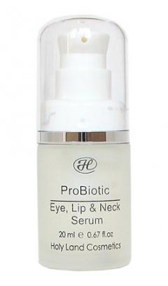 Сыворотка для век, губ и шеи Холи лэнд PROBIOTIC Eye, Lip & Neck Serum Holy Land