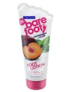 Лосьон для ног Перечная мята и слива Фриман Bare Foot Softening Foot Lotion Freeman