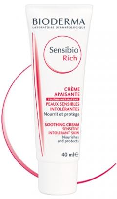 Сансибио насыщенный крем Биодерма Sensibio Rich Soothing Cream Bioderma