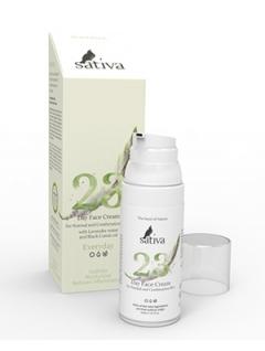 Крем для лица дневной №23 для нормального и комбинированного типа кожи Сатива Sativa