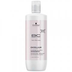 Уплотняющий шампунь Шварцкопф Профэшнл BC Bonacure Excellium Q10+ Omega 3 Plumping Shampoo Schwarzkopf Professional